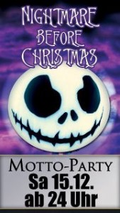 Nightmare before Christmas 2012