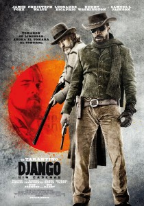 Internationales Poster für Django Unchained