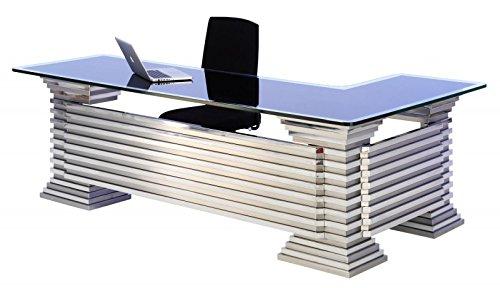 Edelstahl Schreibtisch